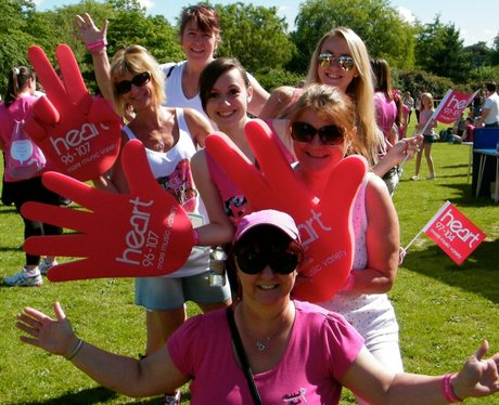 Did you see the Heart Angels at Horsham Race For L