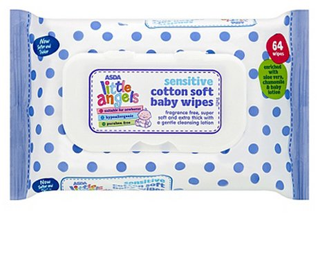 Little Angels Sensitive Baby Wipes
