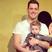 Image 6: Michael Buble with son Noah and  Luisana Lopilato