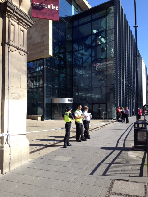 Newcastle Uni Cordon