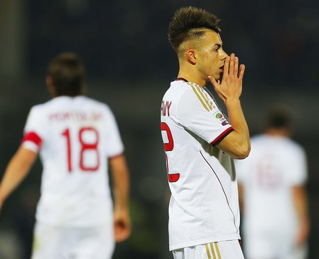 Stephan El Shaarawy with mohawk