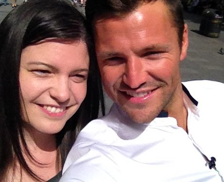 Mark Wright selfies