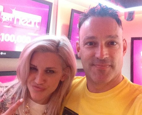 Toby Anstis and Ashley Roberts