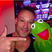 Image 2: Toby Anstis and Kermit the frog