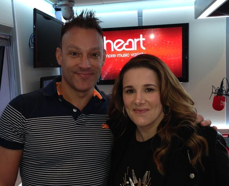 Toby Anstis and Sam Bailey