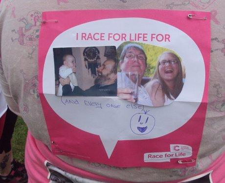 Bath Race For Life 2014 Messages