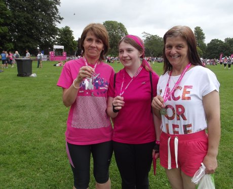 Bath Race For Life 2014 The Finishers