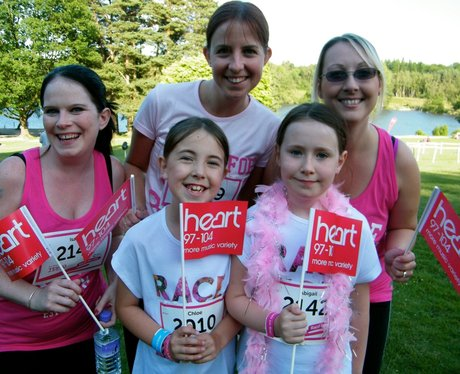 Did you see the Heart Angels at Crawley Race For L