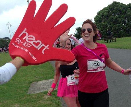 Heart Angels: Folkestone Race For Life - The Race