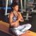 Image 5: kelly-rowland-meditates