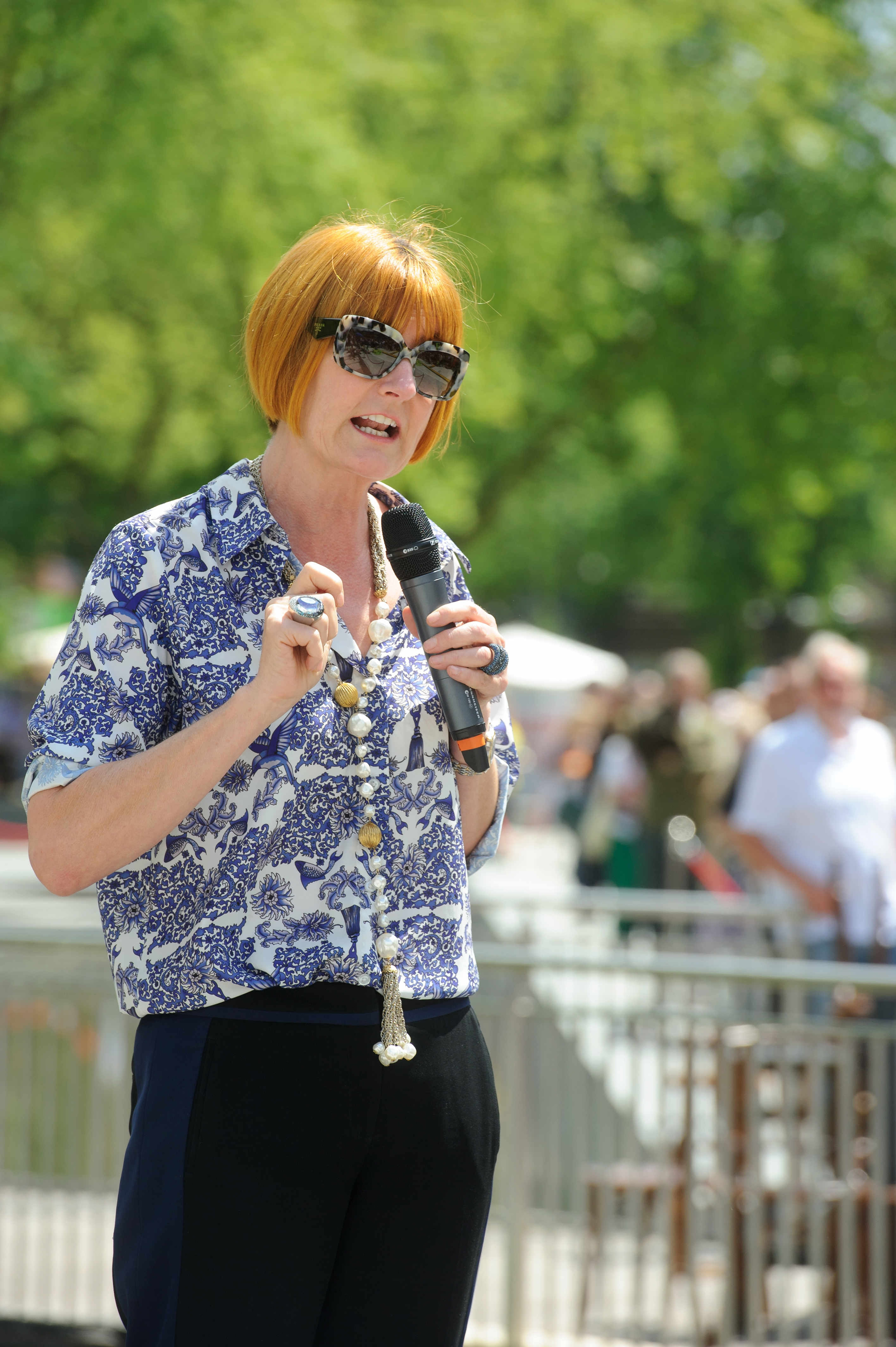 Mary Portas - Watford Big Events 3