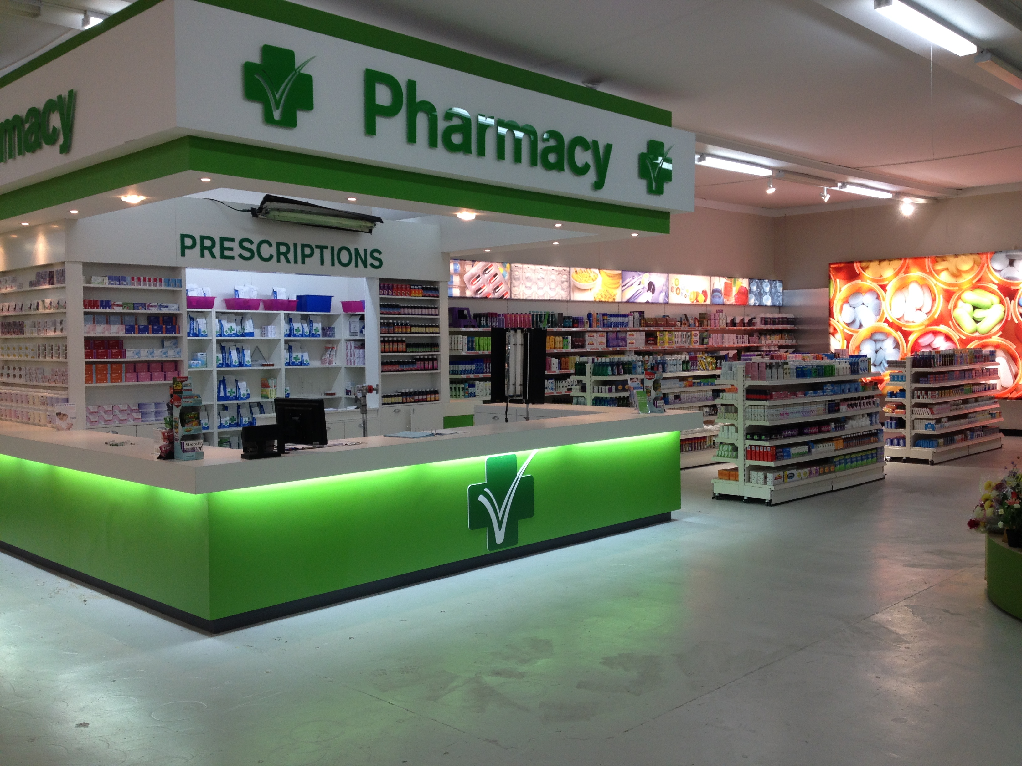 Trollied pharmacy set