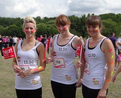 Heart Angels: Pretty Muddy Basildon 28 June 2014