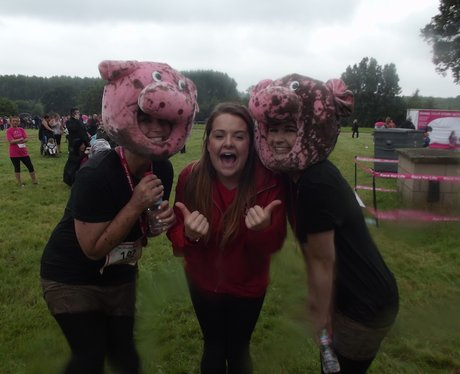 Pretty Muddy Coventry: Finish Line