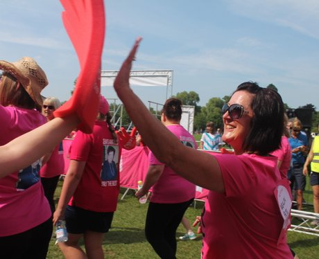 Race for Life Gloucester - The Day 2014