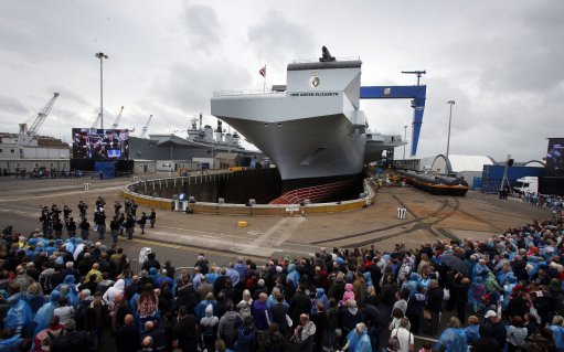 HMS Queen Elizabeth naming