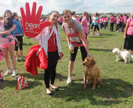 Race for Life Cheltenham - The Happy Dogs 2014