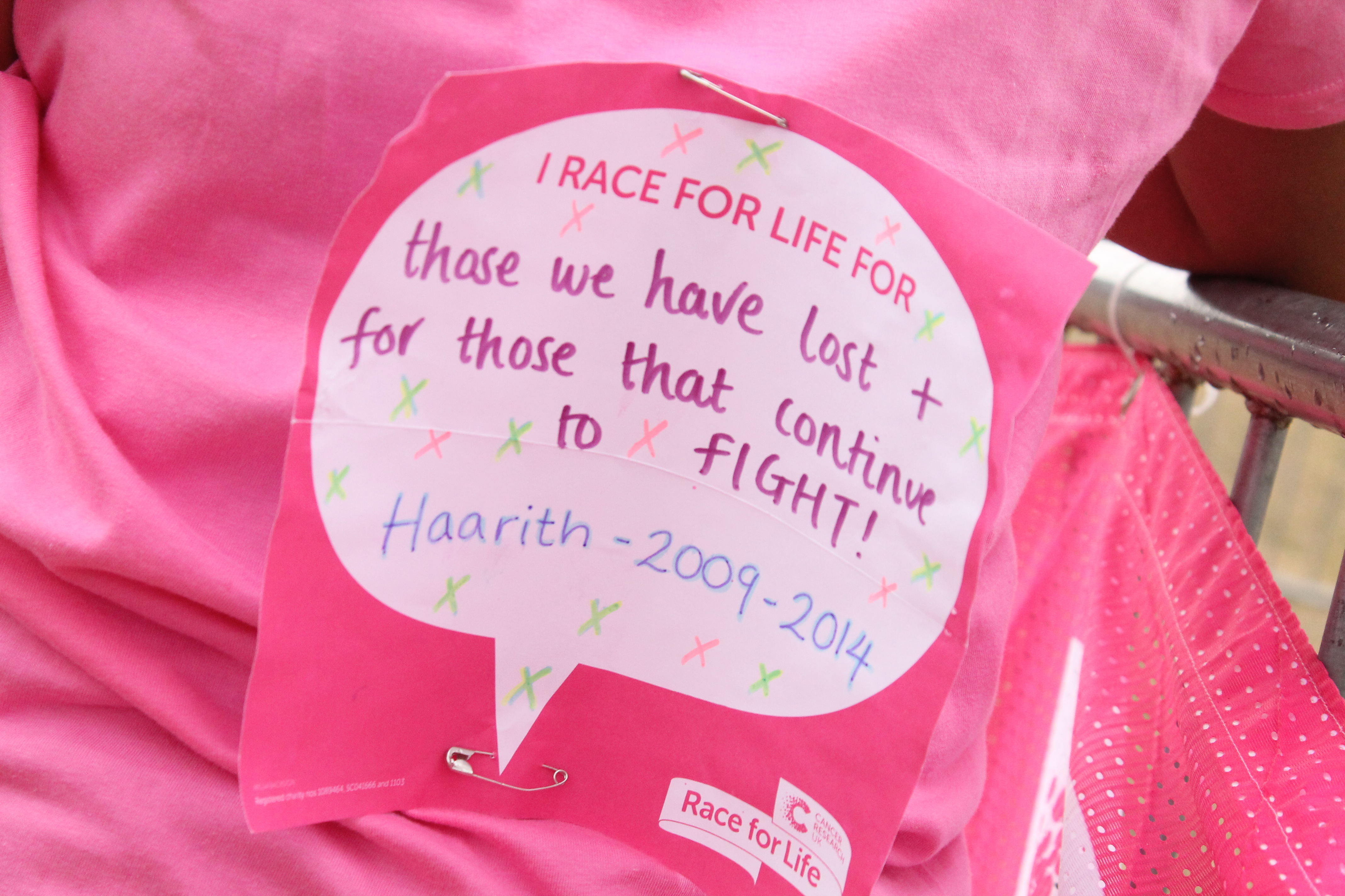 Race for Life Victoria Park
