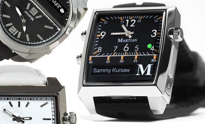 The Martian Smartwatch
