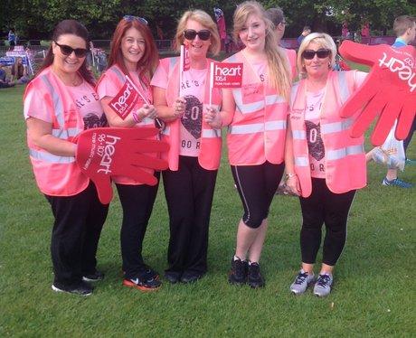 Heart Angels: Race For Life Liverpool 06/07/14 Par