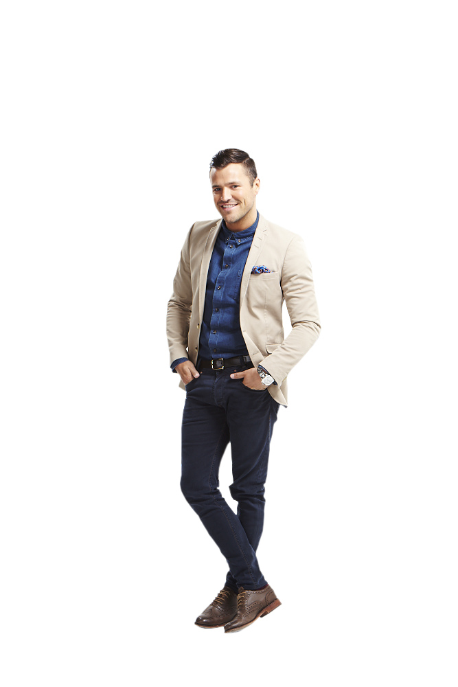 Mark Wright solo presenter shot