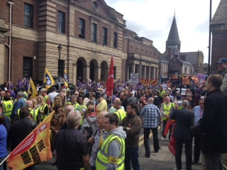 Newcastle Public Sector Strikes