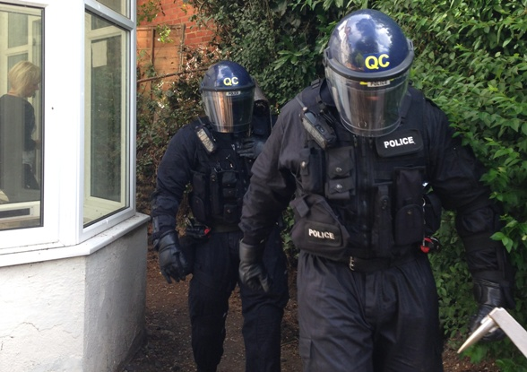 Boscombe drug raids