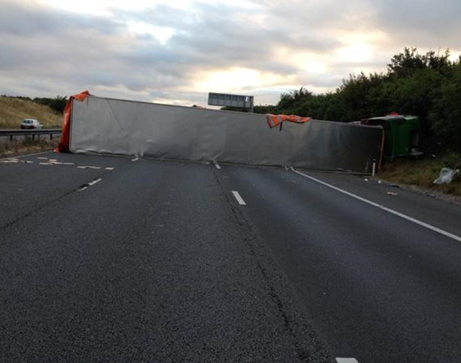 M5 collision Jul 16th southbound/somerset
