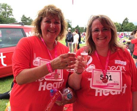 Oxford Race for Life 2014 - Team Heart