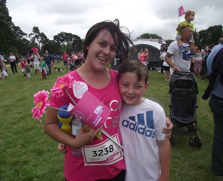Oxford Race for Life 2014 Finish Line