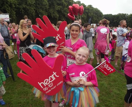 Race For Life Rugby, Ladies in Pink!
