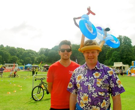 We have a great time at the Reigate cycle festival
