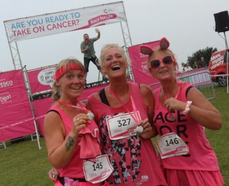 Heart Angels: Margate Race For Life - The Medals (