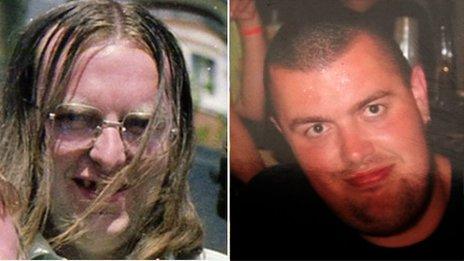 John Alder and Liam Sweeney Newcastle United MH17