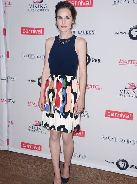 Michelle Dockery on the red carpet