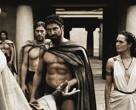 Gerard Butler in '300'