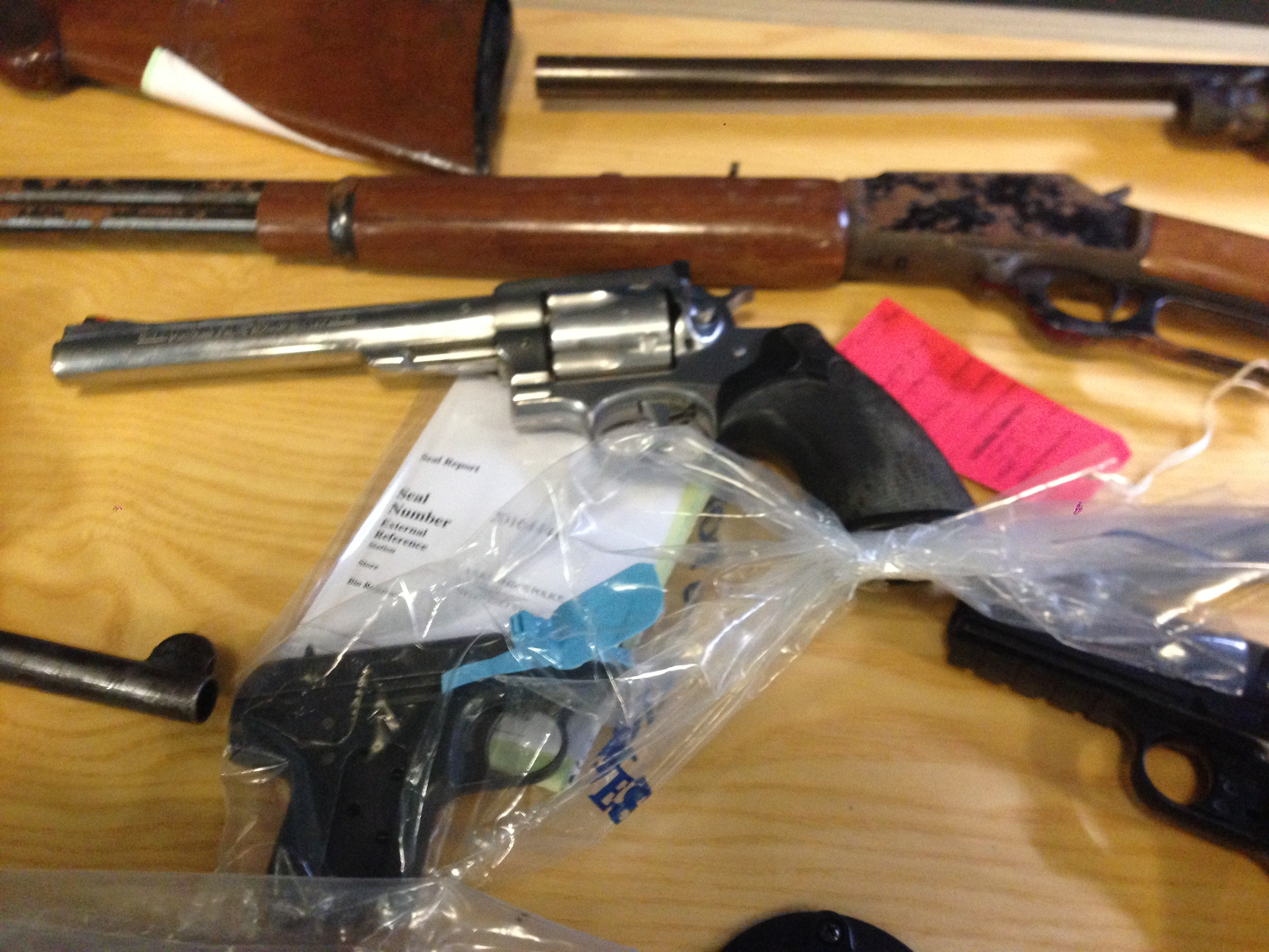 pistol surrender birmingham