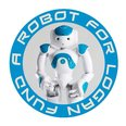 Robot for Logan fund logo