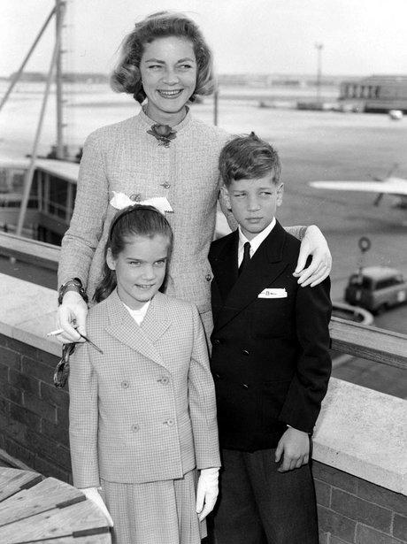 Lauren Bacall's Dazzling Life In Pictures - Heart Lauren Bacall Children