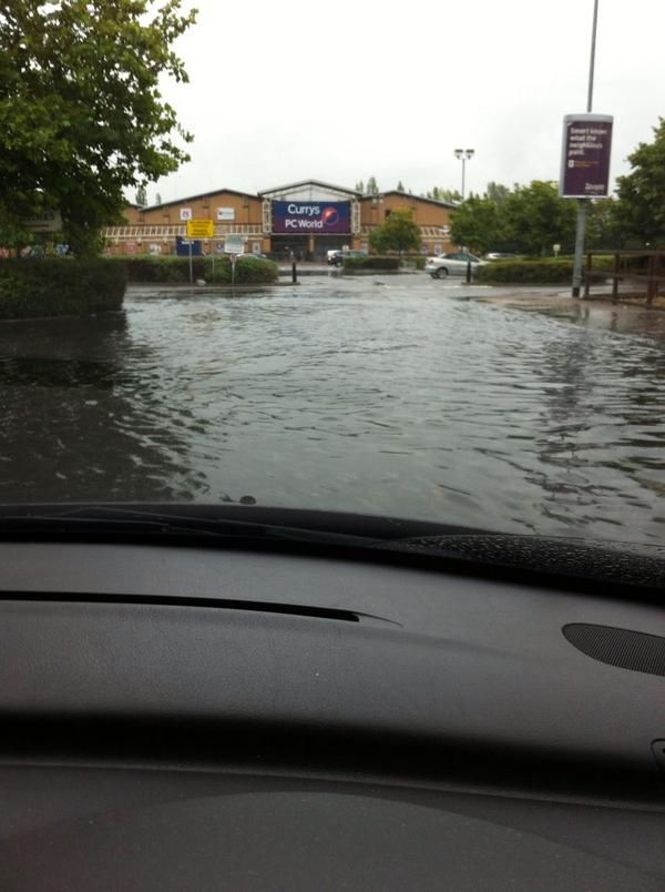 Flooding Peterborough