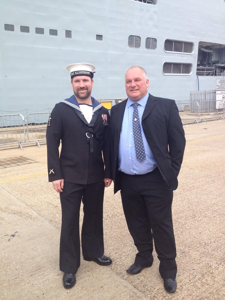 HMS Illustrious decommissioning
