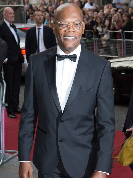 Samuel L Jackson at the GQ Awards 2014 in London