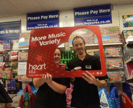 Heart Angels: Macclesfield Work Visits (5th Septem