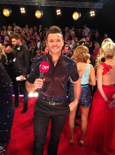 Mark Wright Strictly Come Dancing with Heart Mic