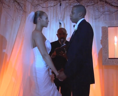 Beyonce and Jay Z's Wedding