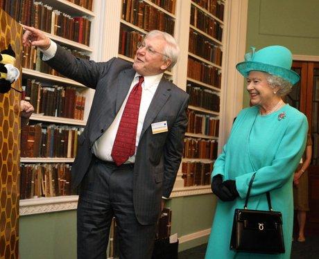 David Attenborough with Queen Elizabeth II