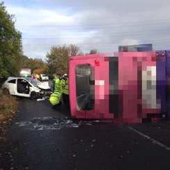 Hertfordshire Bus Crash