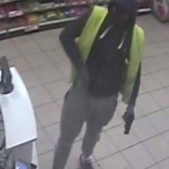 Peterborough Armed Robbery CCTV