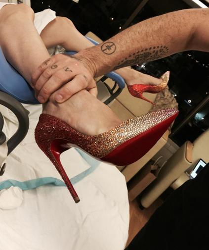 Ayda's heels
