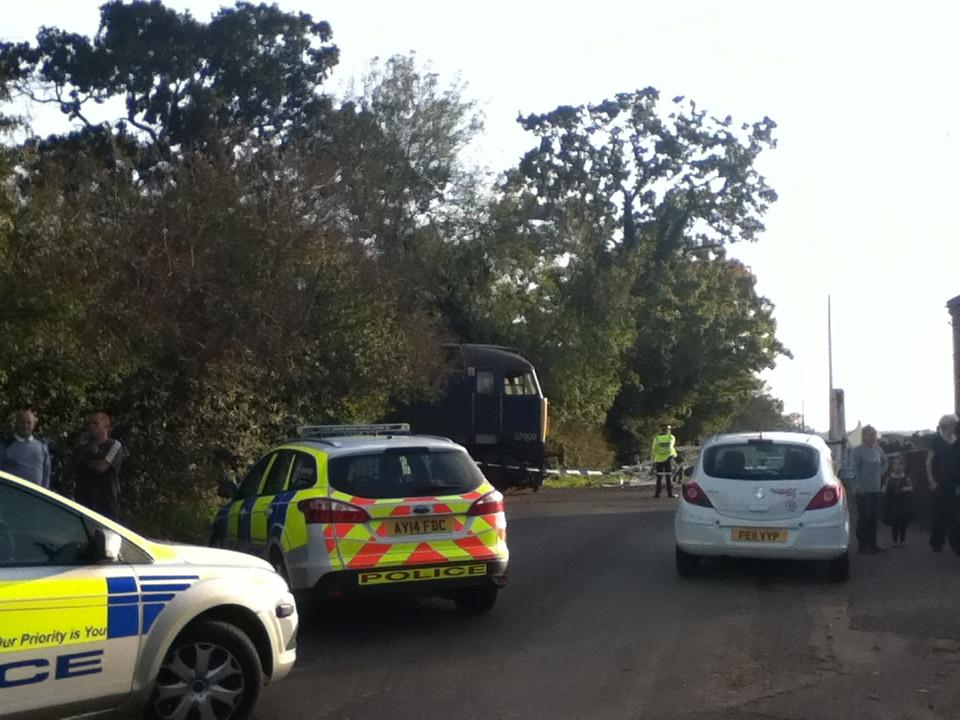 Level Crossing Crash - Lingwood Norfolk